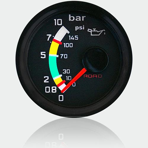 <strong>Druckanzeige 10 bar Ø 52MM       <br> PRESSURE GAUGE 10 bar Ø 52MM</strong>